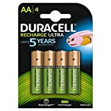 Duracell HR06-P 2500mAh Pre Charged Rechargeable Batteries (4 Pcs)