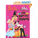 The Sweetest Halloween (Barbie) (Glow-in-the-Dark Sticker Book)