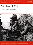 img - for Verdun 1916: 'They shall not pass' (Campaign) book / textbook / text book