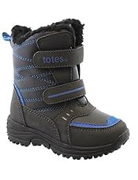 Totes Toddler/Little Kid Adam Velcro Skater Snow Boot