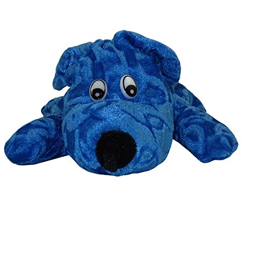 Generic Value Plush - LAYING DOG ( BLUE - 10 inch )