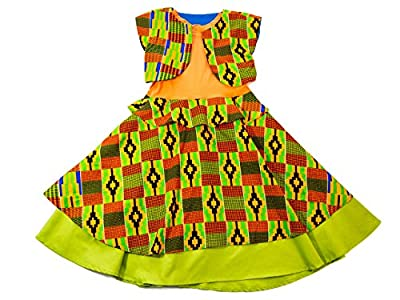 Z By Ozi Girl's Kente Print Tank Dress