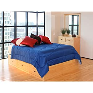 solid pine bedroom furniture: Maco Furniture Shaker Solid ...