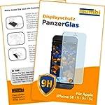 mumbi Panzerglasfolie iPhone SE 5 5S...