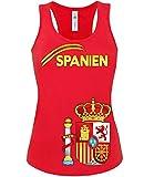 FUSSBALL - FANARTIKEL- SPANIEN FANSHIRT 3207(TT-F-R) Gr. M