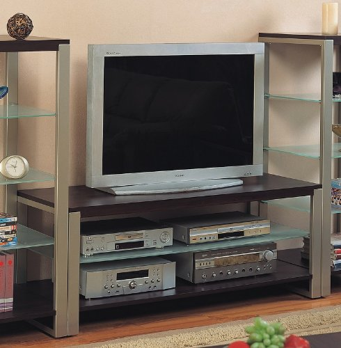 Cheap Contemporary Pewter & Cappuccino Finish TV Stand (VF_AZ00-28538×30487)