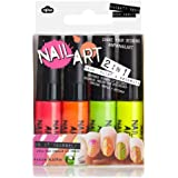 Nail Art Mini Pens - Naughty Neon Collection