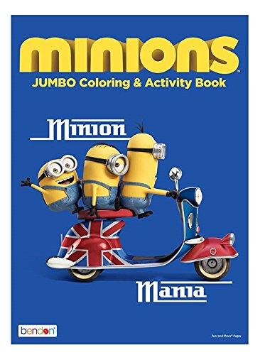 Minions Jumbo Coloring and Activity Book Minion Mania