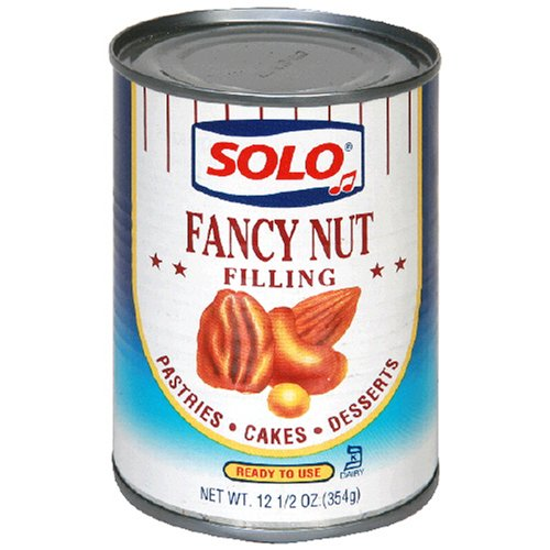 Buy Solo Nut Filling, 12 Ounces (Pack of 6) (Solo, Health & Personal Care, Products, Food & Snacks, Baking Supplies, Pie & Cobbler Fillings)