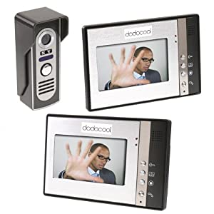 DODOCOOL 7 Zoll Video Türsprechanlage Türklingel Intercom Kit 12  Monitor Nachtsicht  BaumarktKundenbewertung und Beschreibung