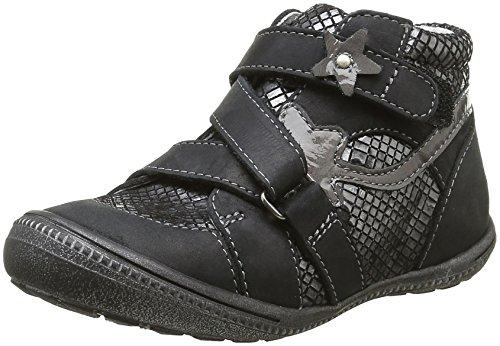 GBBNina - Sneaker Bambina , Argento (Argent (21 Vte Noir/Argent Dpf/2822)), 34