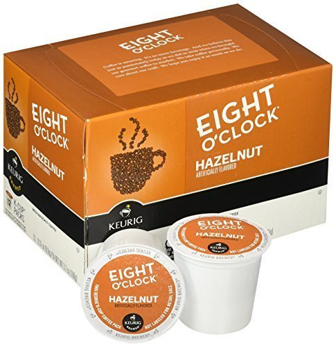 Eight O'Clock Coffee Hazelnut, Keurig K-Cups, 12 Count, (Pack of  6) (Hazelnut K Cups compare prices)