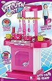 Cocina rosa Toyrific con luces y sonidos