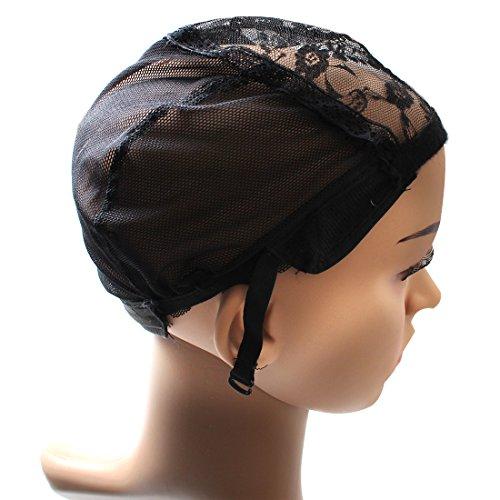 Meetu Lace Wig Making Cap Weaving Mesh Net Cap Adjustable Straps DIY Wig Weaving Cap 1pcs/lot (Adjustable Wig Cap compare prices)