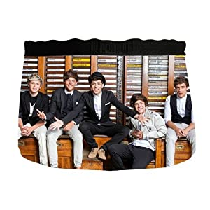 Custom One Direction Dog Cat Food Water Bowl PB-298 by WX Pet Bowls