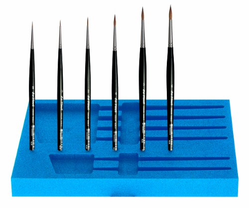 Da Vinci Series 5330 Watercolor Brush Travel Set in Protective Case