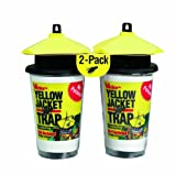 Victor Poison-Free M367 Disposable Yellow Jacket Trap with Bait 2-Pack