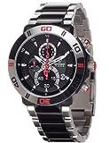 Detomaso DT2009-C - Reloj analógico de cuarzo para hombre con correa de acero inoxidable, color multicolor