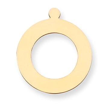 "14K Gold Round Stamping Disc 0.032"""