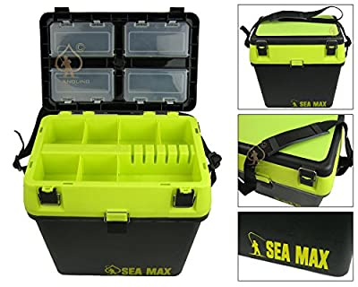 Roddarch© SEA MAX Sea Fishing Tackle Seat Box. Genuine High Quality Product. by Silver Bullet Trading