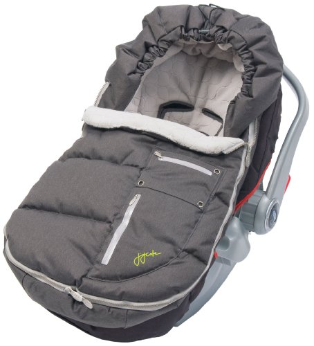 JJ Cole Infant Arctic Bundleme Footmuff (charcoal Silver)
