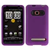 Purple Silicone Case / Skin / Cover for HTC Evo 4G