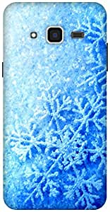 The Racoon Lean printed designer hard back mobile phone case cover for Samsung Galaxy J3(2016). (Frozen Fev)