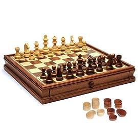 Camphor Chess/Checkers Set