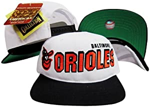 Baltimore Orioles Two Tone Plastic Snapback Adjustable Plastic Snap Back Hat Cap by American Needle