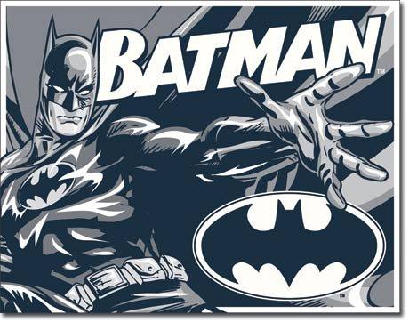 Batman Duotone Retro Vintage Tin Sign at Gotham City Store