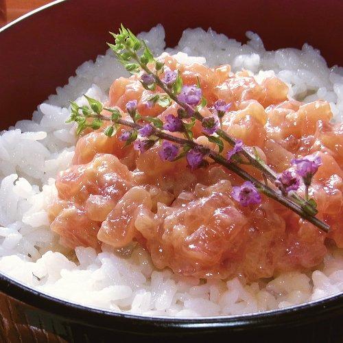 【大人気の海鮮丼】マグロのなめろう丼