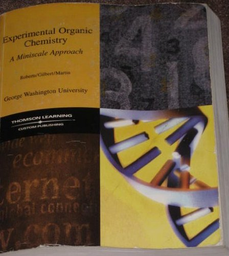 Image for Experimental Organic Chemistry: A Miniscale Approach