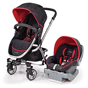 Summer Infant Fuze Travel System with Prodigy Infant Car Seat, Jet Set