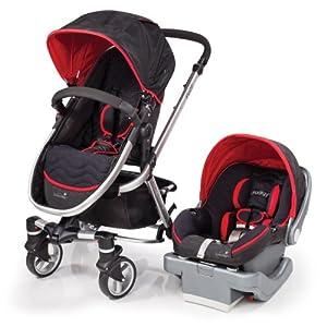 Summer Infant Fuze Travel System with Prodigy Infant Car Seat, Jet Set