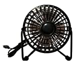 Desktop Fan with USB port- Compact Size - Gift for Father's Day