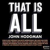 That Is All | [John Hodgman]