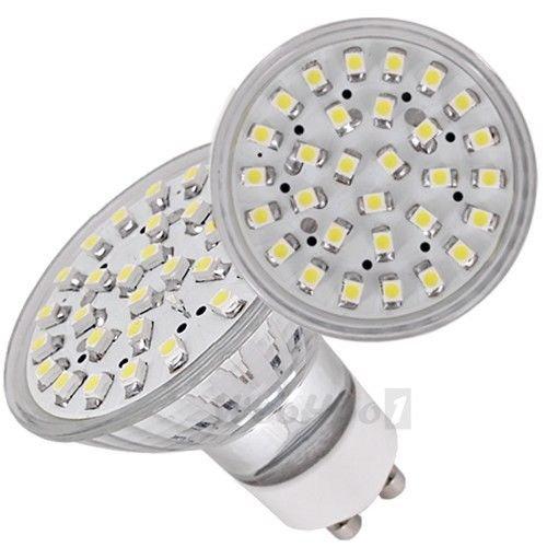 Gu10 White 30 Smd Led Light Bulb Lamp Spotlight 230V