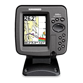 Humminbird 385ci 3.5-Inch Waterproof Marine GPS and Chartplotter with Sounder