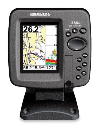 Humminbird 385ci 3.5-Inch Waterproof Marine GPS and Chartplotter with Sounder