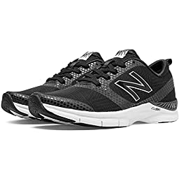 New Balance Women\'s 711 Mesh Cross-Training Shoe, Black/Grey, 7.5 B US