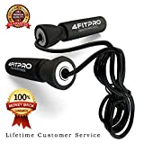 Jump Rope for Men, Women & Kids - Adjustable Light Weight Bungee Cable Speed Skipping For Exercise, Tone, Fitness Workouts, MMA, UFC & Boxing - Superior to Wire, Beaded & Chinese Ropes