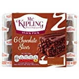 Mr Kipling Chocolate Slices 6 per pack case of 7