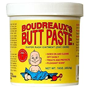 Boudreaux's Butt Paste Diaper Rash Ointment Jar -- 16 oz