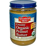 Arrowhead Mills Creamy Peanut Butter No Salt ( 12x16 Oz)