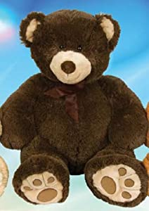 43in Cuddle Bear Dark Brown Bear Plush Stuffed Animal