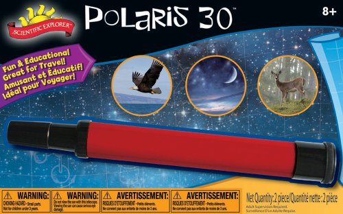 Poof-Slinky - Scientific Explorer Handheld Polaris Telescope With 30X Magnification, 0Sa403Bl