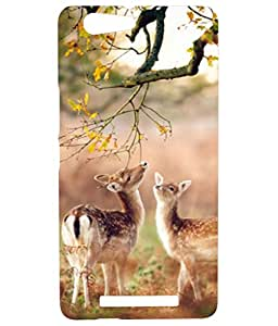 Gionee M5 Lite Soft Silicon High Quality Printed Back Cover
