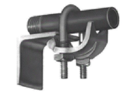 Bridgeport 964 1-1/4-Inch Conduit Clamp, 10-Pack