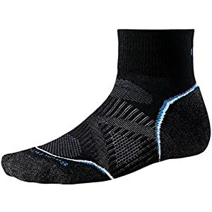 Smartwool Damen Socken Phd Run Light Mini, black, M, SW065