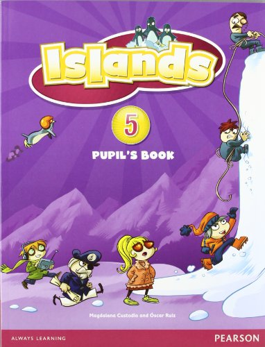 Islands Level 5 Pupil's Book plus pin code